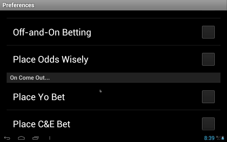 Craps hardway bet odds
