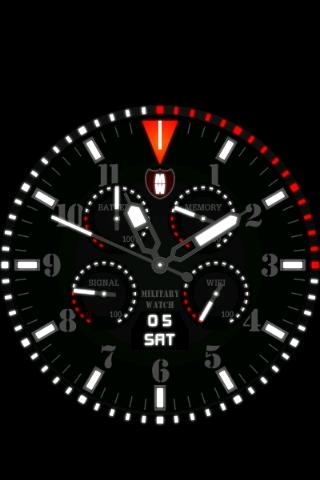 Military Watch Wallpaper 2 Android App Screenshot