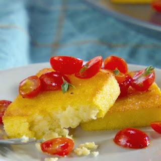 Crispy Polenta Squares Recipe