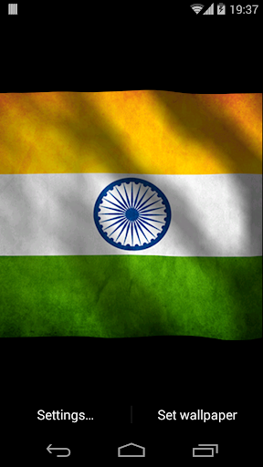 India Happy Republic Day Flag