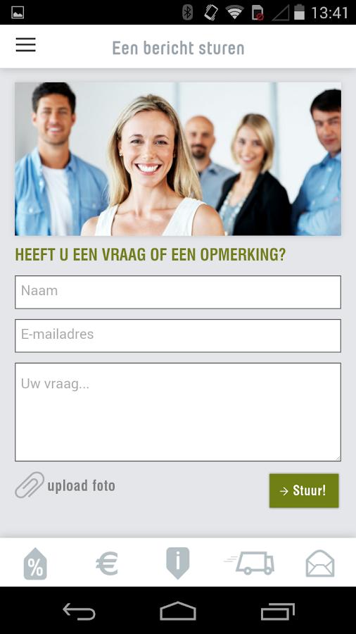 Duurzaamheids App - screenshot