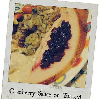 Susu's Grand Marnier Orange Cranberry Sauce! -Blogger C.L.U.E. Society.