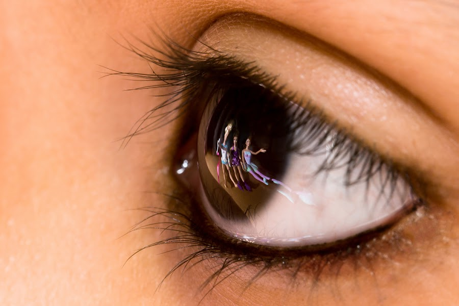 Baby Eye by Pranathi Pottangi - People Body Parts ( closeup eye, macro, macro eye, eye, baby macro eye )