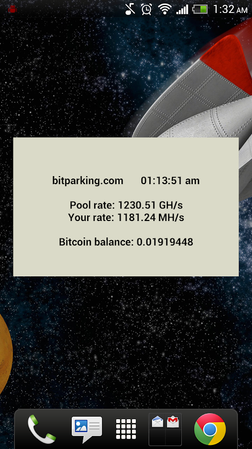 BitParking Stats + Widget - screenshot