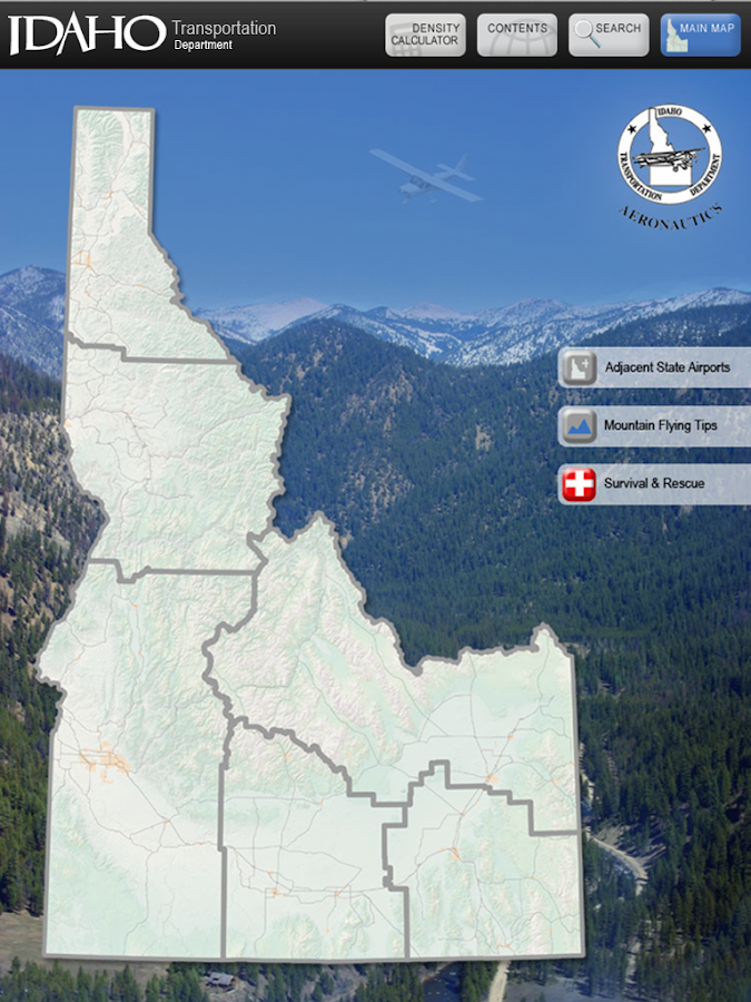 Idaho Airports - screenshot