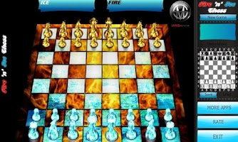 Screenshot of Fire & Ice 3D Chess 2013 ♞