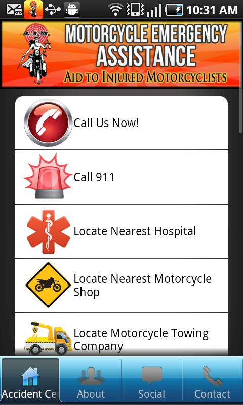 Aid To Injured Motorcyclists- screenshot