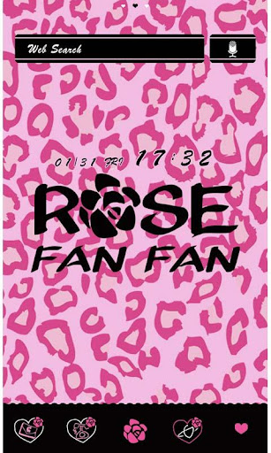 ROSE FAN FAN for[+]HOMEきせかえテーマ