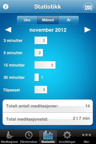 Mindfulness Appen NOR - screenshot