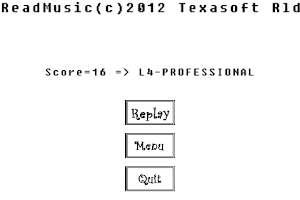 Screenshot of ReadMusic