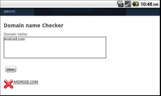 Domain Name Checker