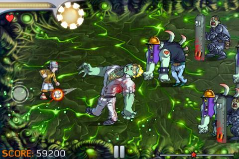 Pro Zombie Soccer screenshot #4