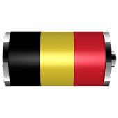Belgium - Flag Battery Widget