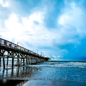 Cherry Grove, South Carolina by Jim Weil - Landscapes Beaches ( cherry grove, myrtle beach, south carolina )