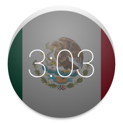 Mexican Flag: Wear Watch Face