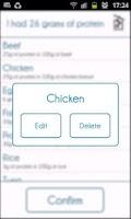Screenshot of Protein Tracker
