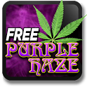 Marijuana Live Wallpaper - Purple Haze FREE icon