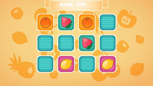 マッチングゲーム 果物