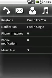 Configure Ringtone - screenshot thumbnail