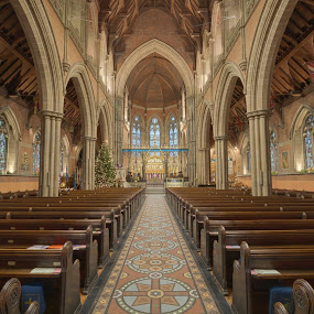 Here is a photograph taken from Bury Parish Church.  Located in Bury, Greater Manchester, England, UK. by Michael D Beckwith - Buildings & Architecture Places of Worship