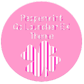 Peppermint GoLauncher EX Theme
