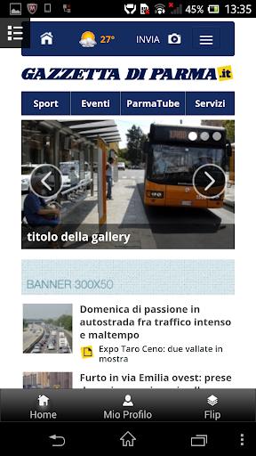 Gazzetta di Parma Mobile