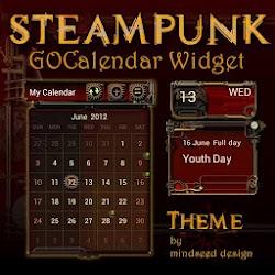 Steampunk GO Calendar Theme