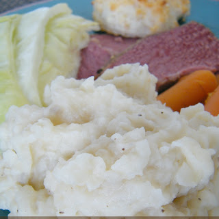 Slow Cooker Creamy Mashed Potatoes