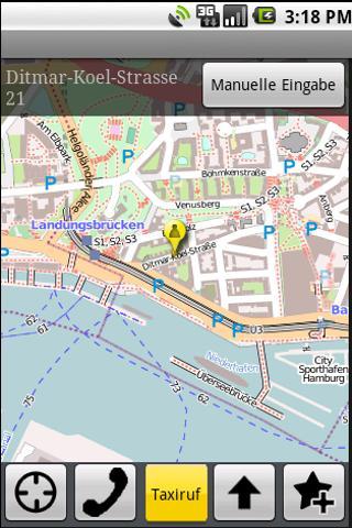 Taxi-Hähnel Freiberg- screenshot