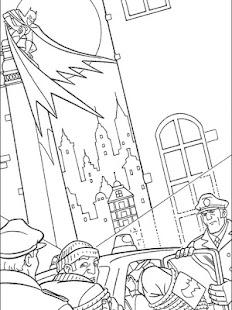 Hero Coloring Batman For kids