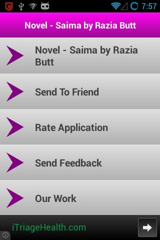 Saima - A Novel by Razia Butt