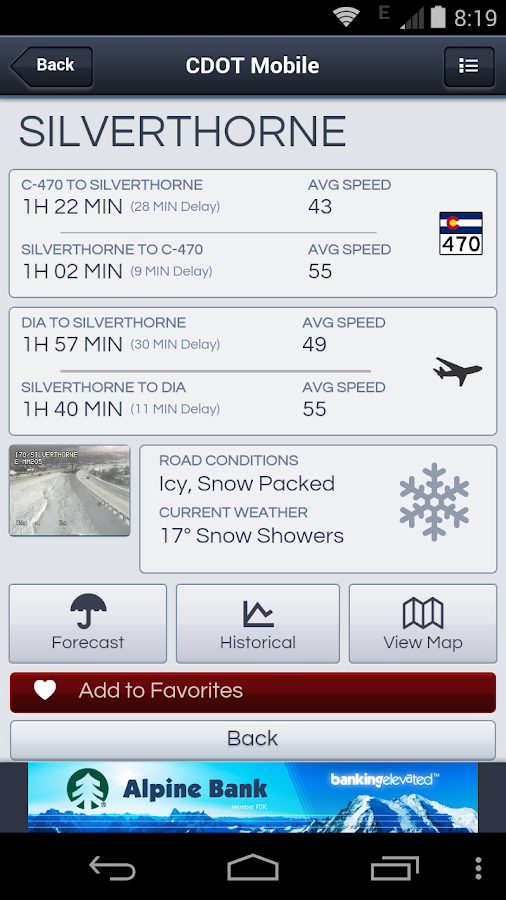 CDOT Mobile - The Official App - screenshot
