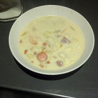 Mixed Seafood Corn Chowder Recipe