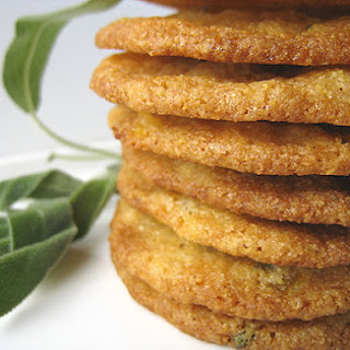 Apricot, Sage, and Cornmeal Cookies.