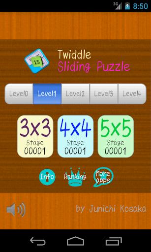 Twiddle Sliding Puzzle