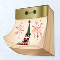 Russian Tear-off calendar icon