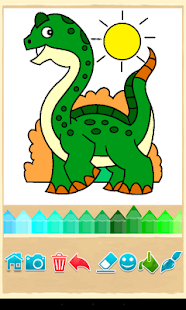 Dino Coloring Game - screenshot thumbnail