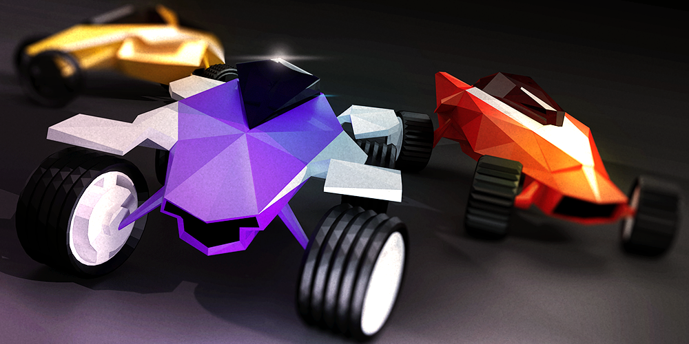 Stunt Rush - 3D Buggy Racing- screenshot