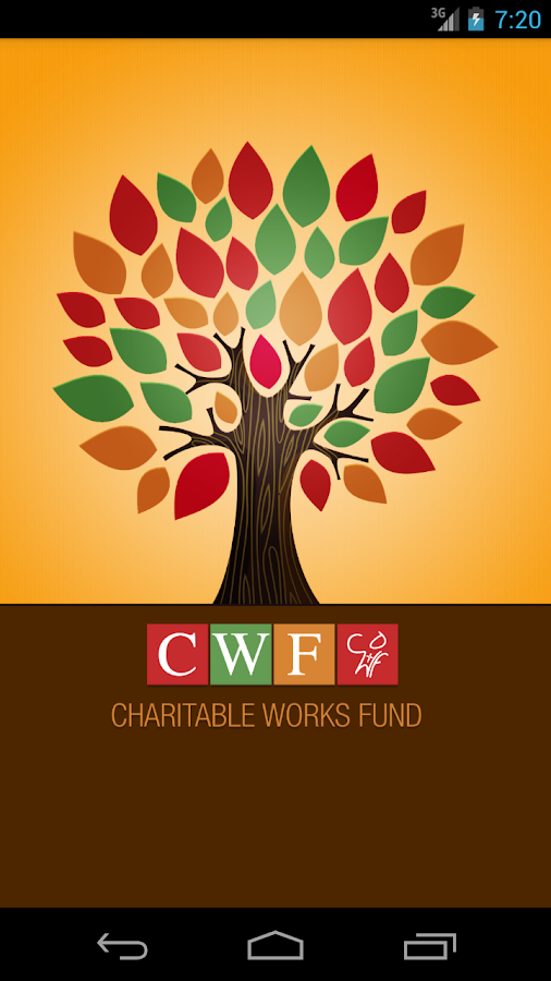 Charitable Works Fund- screenshot