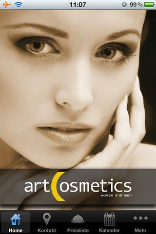 art cosmetics - screenshot
