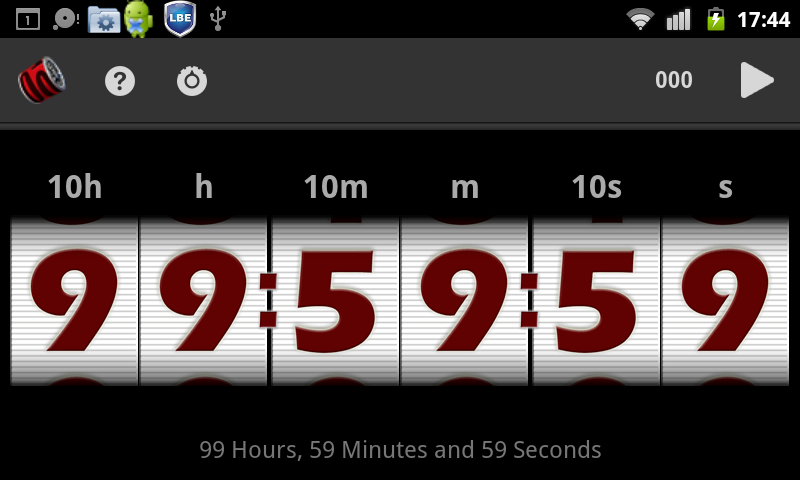 Timesolutely lite - timer - screenshot