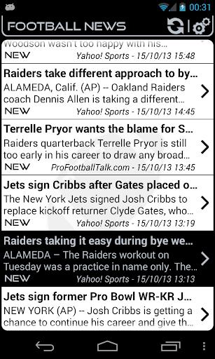 Oakland Football News