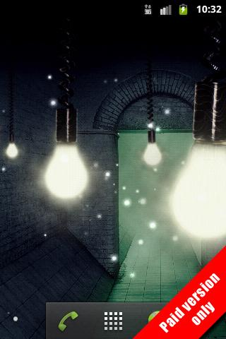 Fireflies Live Wallpaper Free - screenshot