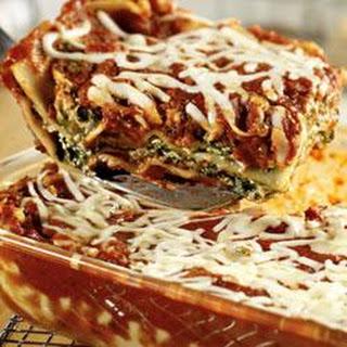 Extra-Easy Spinach Lasagna.