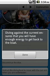 Scuba Exam- screenshot thumbnail