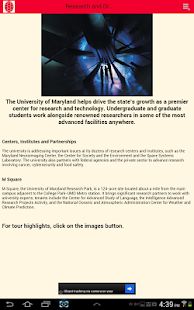 Visit UMD- screenshot thumbnail