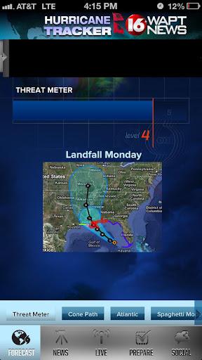 Hurricane Tracker 16 WAPT News