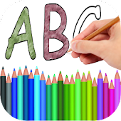 Coloring Book Alphabet