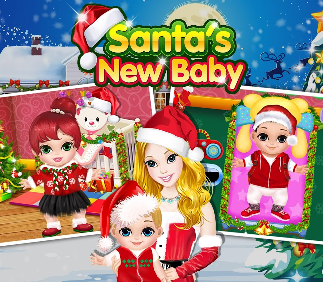 New Baby Little Santa Babies Apl Android Di Google Play