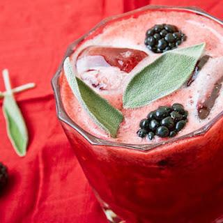 Blackberry-Sage Lemonade